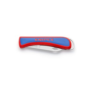 Knipex 16 20 50 SB Elektriker-Klappmesser, 80mm