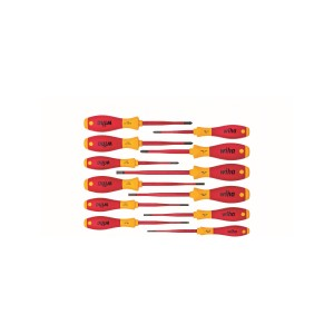WIHA 3201K12 Screwdriver set Softfinish slimFix, 12pcs.