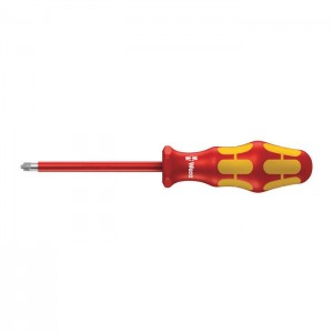 Wera 165 i PZ/S VDE Insulated screwdriver for PlusMinus screws (Pozidriv/slotted) (05006191001)