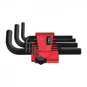 Wera 950/9 Hex-Plus 7 L-key set, metric, BlackLaser (05021737001)