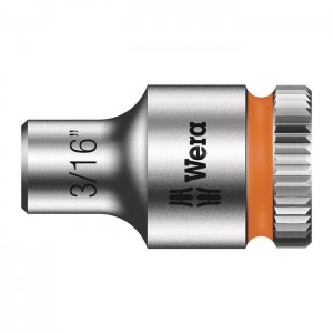 Wera 6point socket 8790 HMA, size 3/16 - 9/16in.
