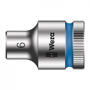 Wera 6point socket  8790 HMB 3/8in., size 6 - 24 mm