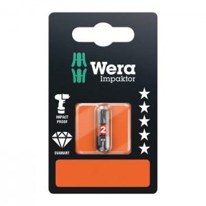 Wera 05073916001 Impaktor Bit 851/1 IMP DC SB, size PH2