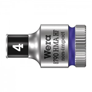 Wera 6point socket 8790 HMA HF, size 4 - 14 mm
