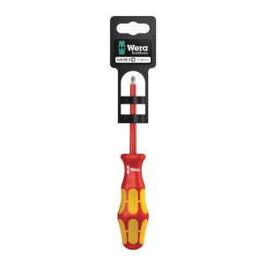 Wera 165 i PZ/S SB VDE Insulated screwdriver for PlusMinus screws (Pozidriv/slotted) (05100021001)