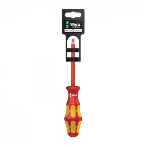 Wera 165 i PZ/S SB VDE Insulated screwdriver for PlusMinus screws (Pozidriv/slotted) (05100022001)