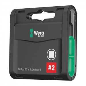 Wera Bit-Box 20 V Robertson (05057790001)