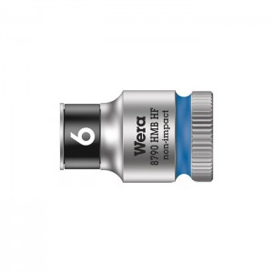 Wera Zyklop socket 8790 HMB HF, size 6 - 19 mm