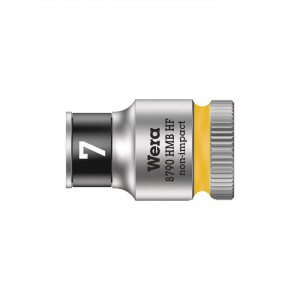 """Wera 8790 HMB HF Zyklop socket with 3/8"""" drive with holding function (05003741001)"""