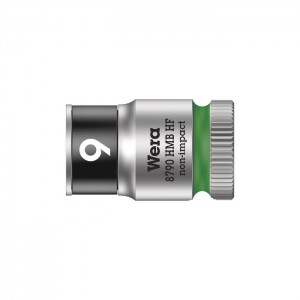 """Wera 8790 HMB HF Zyklop socket with 3/8"""" drive with holding function (05003743001)"""