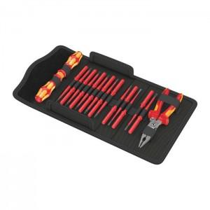 WERA 05136027001 Kraftform Kompakt VDE 17 extra slim 1, 17 pieces
