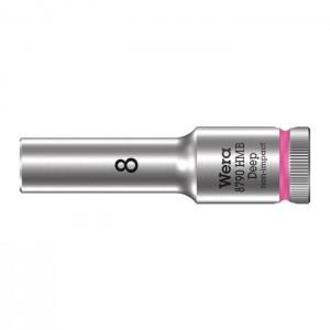 Wera 6point socket 8790 HMB Deep, size 8 - 22 mm