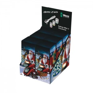 Wera Counter Display Zyklop Mini 3 Christmas 2019 (05134922001)