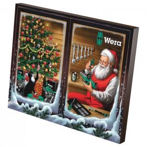 Wera 05136602001 Advent Calender 2021, 24pcs.