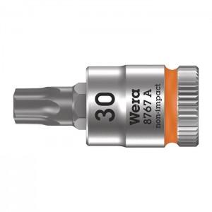 "Wera 8767 A TORX®  Zyklop bit socket, 1/4"" drive (05003393001)"