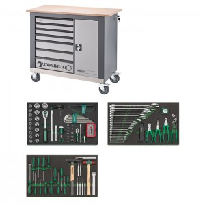 Stahlwille 98830120 Workbench with tool set WB620/135QR, 135pcs.