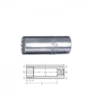 Stahlwille 01640012 SAE 12point socket long 40 ADL 3/16, size 3/16