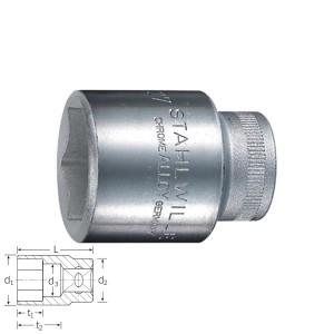 Stahlwille 03030016 6point socket 52 16, size 16 mm