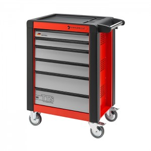 Stahlwille 81200011 Tool trolley 95/6R TTS red, with 6 drawers