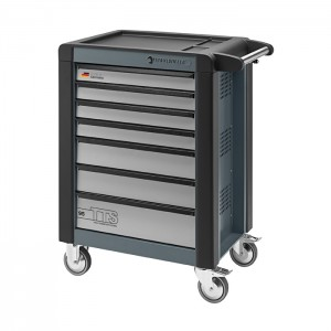 Stahlwille 81200018 Tool trolley 95/7A TTS charcoal grey, with 7 drawers