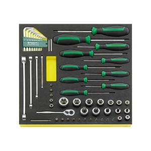 Stahlwille 96830450 TORX®-Tool set TCS TX/57 MF N, 57pcs.