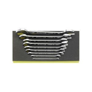 Stahlwille 96838779 Double open ended spanner set TCS 10a/9, 9pcs.