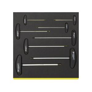 Stahlwille 96838786 T-handle screwdriver set TCS 10768/8, 8tlg.