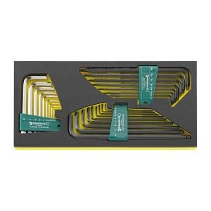 Stahlwille 96838788 Key wrench sets TCS 10760-10771/26, 26pcs.