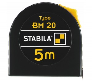 STABILA 16446 MPBM20 BM 20 pocket tape, 5 m