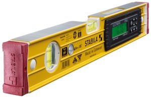 STABILA 17705 MPType196electronic TECH 196 electronic IP 65 electronic spirit level, 40 cm, with spirit level bag