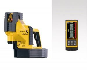 STABILA 18044 MPLA180L LA 180 L multi-line laser, 6-piece set