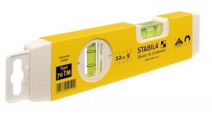 STABILA 02190 MP70TM Type 70 TM spirit level, 22 cm