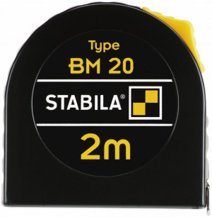 STABILA 16444 MPBM20 BM 20 pocket tape, 2 m