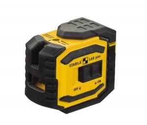 STABILA 18327 MPLAX300 LAX 300 cross line plus plumb point laser, 4-piece set