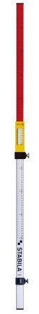 STABILA 07468 MPNL NL levelling rod, 240 cm