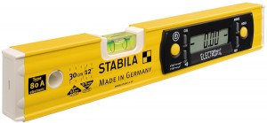 STABILA 17323 MPType80Aelectronic TECH 80 A electronic spirit level, 30 cm