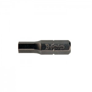Felo 2425010 Bit, Industrial C 6,3 x 25mm