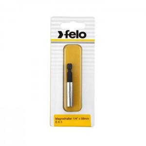 """Felo 3810396 Bit holder 1/4"""" E 6,3 1 pce on card"""