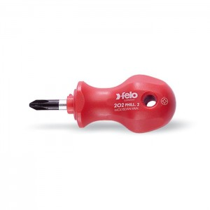 Felo 20202090 Screwdriver stubby, size PH2 x 25mm