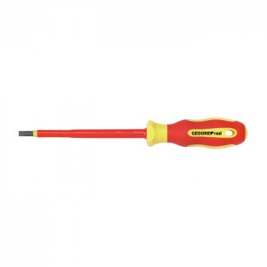 GEDORE-RED VDE-screwdriver slotted 2.5x0.4x75mm (3301400)