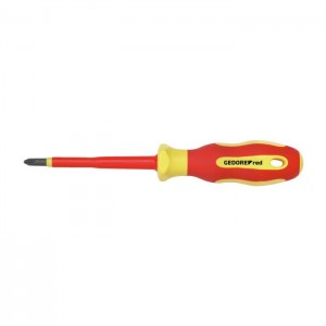 GEDORE-RED VDE-screwdriver PH1 l.80mm (3301404)