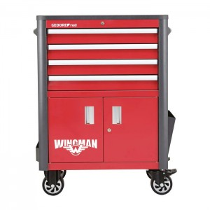 GEDORE-RED Tool trolley WINGMAN 4draw. 1034x724x470 (3301688)