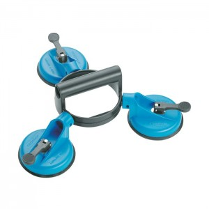 GEDORE Suction cup lifter with 3 cups, d 120 mm (6390870)