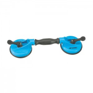 GEDORE Suction cup lifter with 2 cups, d 120 mm (6391170)