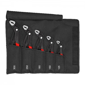 "KNIPEX 00 19 55 S5 Cobra@ Waterpump pliers set ""Kult Tasche"", 5pcs."