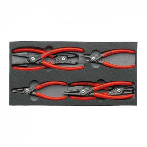 Circlip Pliers Set six precision circlip pliers in a foam tray