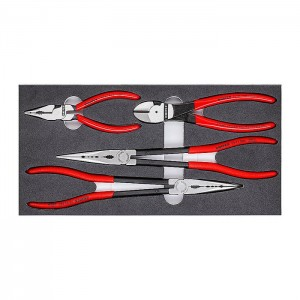"KNIPEX 00 20 01 V16 Pliers Set ""Automotive"", 4pcs."