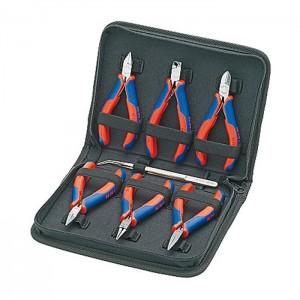 KNIPEX 00 20 16 Electronics pliers set, 7pcs.