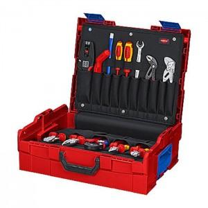 KNIPEX 00 21 19 LB E L-BOXX® Electric 65-part