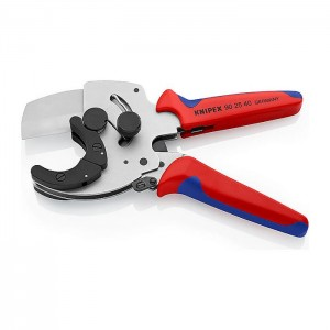 Pipe Cutter for composite and plastic pipes with multi-component grips 210 mm